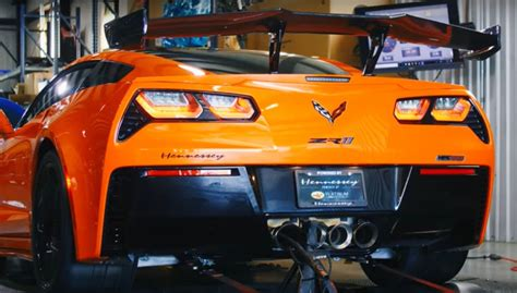Watch Hennessey HPE1200 Corvette ZR1DynoTested: Video | GM