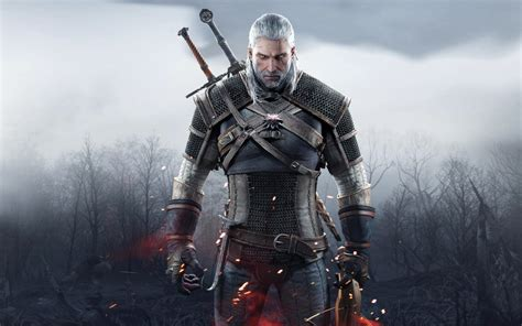 Geralt of Rivia in The Witcher 3 Wild Hunt Wallpapers   HD