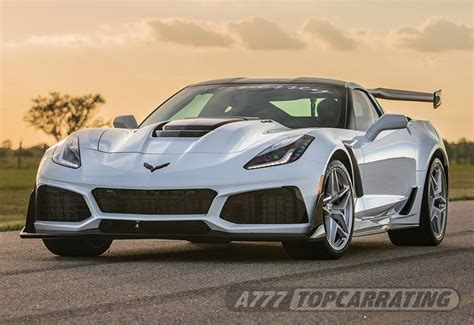 2019 Chevrolet Corvette ZR1 Hennessey HPE1200 Supercharged