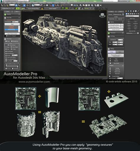Creating detailed 3D models with Code-Artist's