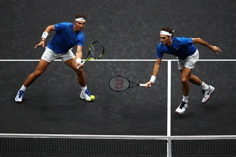 Federer and Nadal combine to take Europe closer to winning