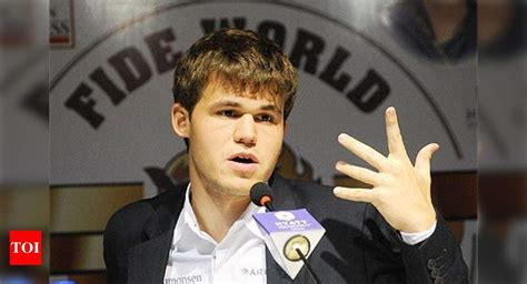 I fear nobody, Magnus Carlsen says | Chess News - Times of