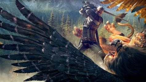 The Witcher 3 Wild Hunt Witcher Griffin Wallpapers   HD