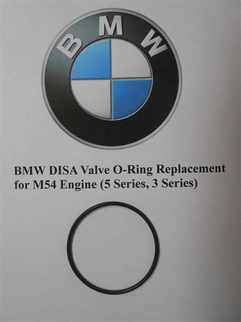 BMW DISA Valve O-Ring Replacement for M54 Engine (5 Series