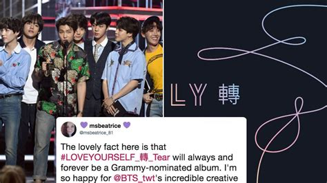What Is The Grammy For Best Recording Package? BTS