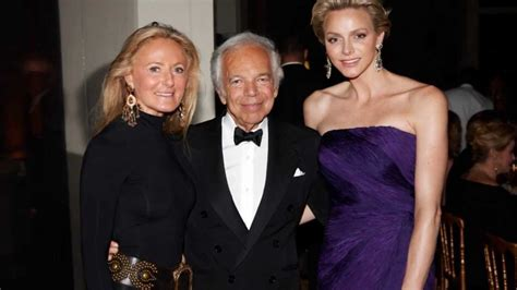Princess Charlene of Monaco at the Ralph Lauren Event in