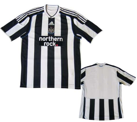 Newcastle United Unveils New Home Shirt Design for 09/10
