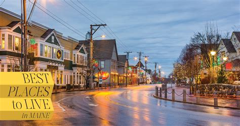 Best Places to Live in Maine | Down East Magazine