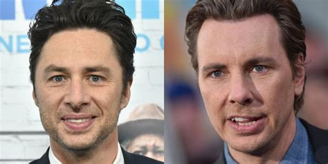 Zach Braff and Dax Shepard's Face Swap Is Unsettling