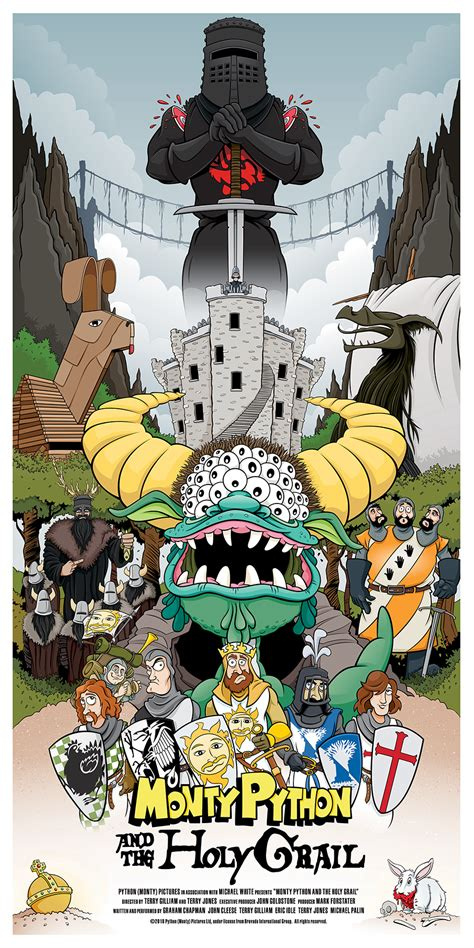 Monty Python and the Holy Grail on Behance