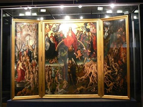 Last Judgement by Hans Memling in the National Museum