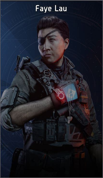 Faye Lau | The Division Wiki | FANDOM powered by Wikia